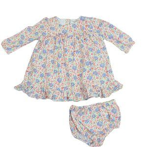 RALPH LAUREN Long Sleeve Floral Dress 6 mo